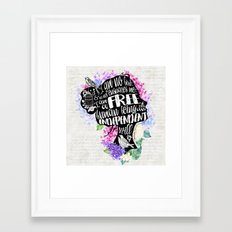 Jane Eyre - No Bird Framed Art Print
