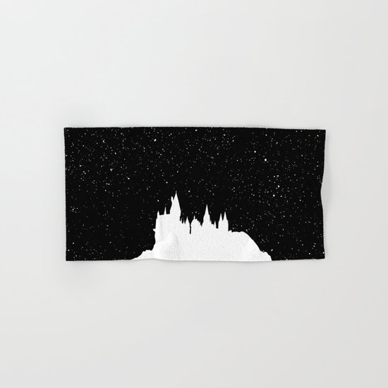 Hogwarts Space Hand & Bath Towel