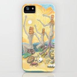 Siren Garbage iPhone Case