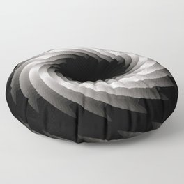 Paper Cut Torus - 01 Floor Pillow