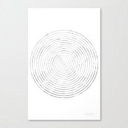 GEOMETRIC MARKS // CASTLE Canvas Print