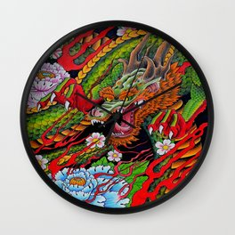 'Defend' 11''x 14'' Colored Pencil and Marker on Bristol Board 2012 Dan Gribben  Wall Clock