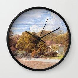 Samuel Palmer - Kensington Gardens - Digital Remastered Edition Wall Clock