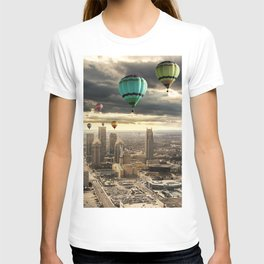 Flying High - Digital Art T-shirt