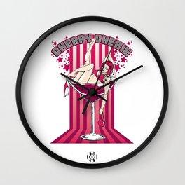 Cherry Cherie - Les filles à boire Wall Clock