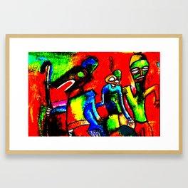Ojuju calabar Framed Art Print