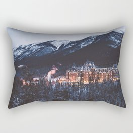 Banff Springs Hotel II Rectangular Pillow