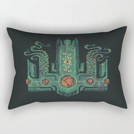 The Crown of Cthulhu Rectangular Pillow