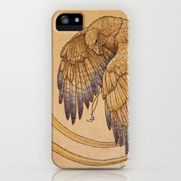 Lunar Falcon iPhone Case
