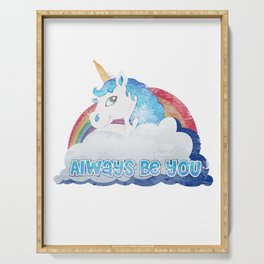 Central Intelligence - Unicorn Serving Tray