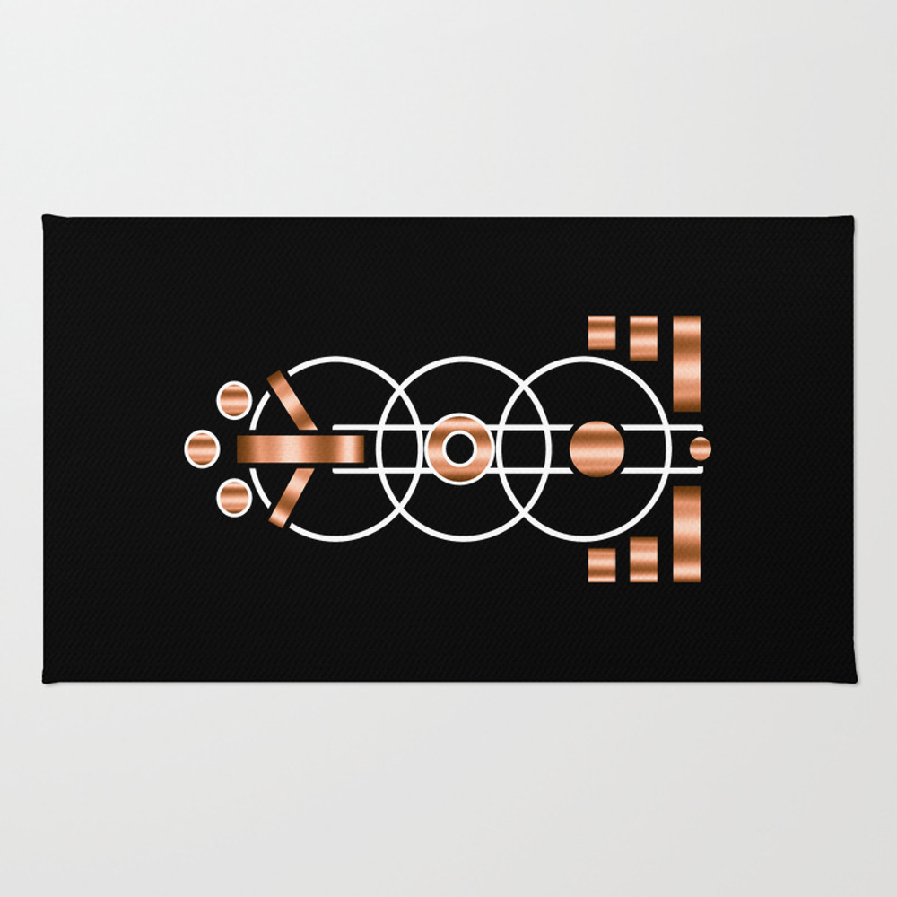 Judgment Day Rug by Umeimages RUG8536177