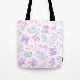 Gamer Girl Pattern Tote Bag