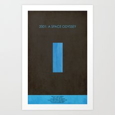 2001: A Space Odyssey Art Print