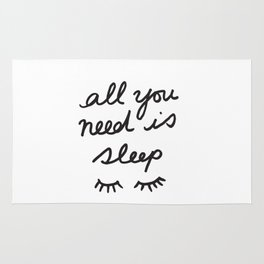 All You Need Is Sleep Rug