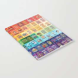 Rainbow of Posters Notebook