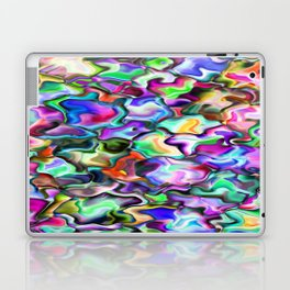 unusual abstract art design background Laptop & iPad Skin