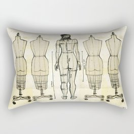 Dress Form Rectangular Pillow