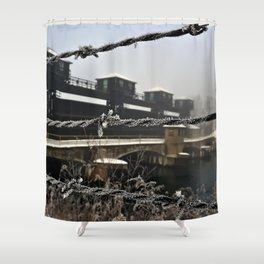 Wired Hydroelectric Shower Curtain