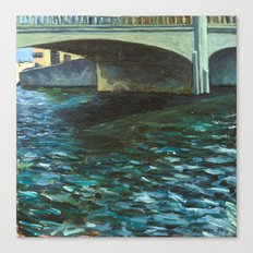Capitola Bridge Canvas Print