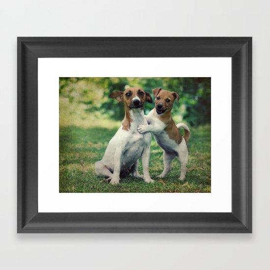 Something to Make You Smile Framed Art Print