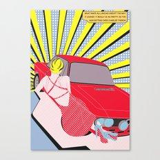 Lancia Fulvia Canvas Print