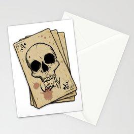 Unlucky Ace of Spades Stationery Cards