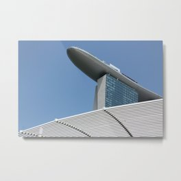 Singapore 01 Metal Print