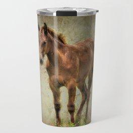 Young Horse Travel Mug
