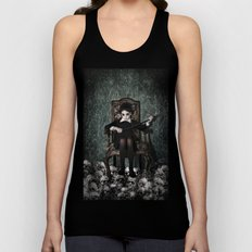 Queen of Skulls Unisex Tank Top