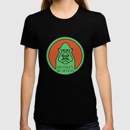 Monkey Business Green T-shirt