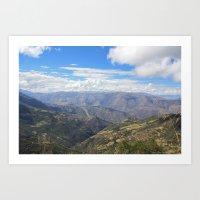 peru Art Prints featuring Peru by Jamie Gowers