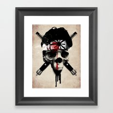 Death to LaRusso Framed Art Print