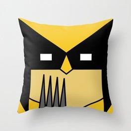 Minimal Wolverine Throw Pillow