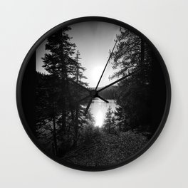 Devils Lake Wall Clock