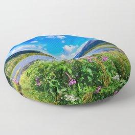 God's Country - IV, Alaska Floor Pillow