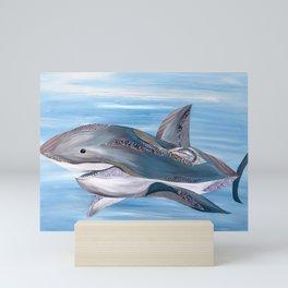 Baby Shark Do Do Do Do Do Mini Art Print