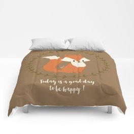 Renard roux // Red fox Comforters