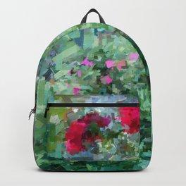 Pastel garden 3 Backpack