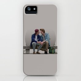 LOVE, EVAK. (light version) iPhone Case