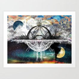 TwoWorldsofDesign Art Print