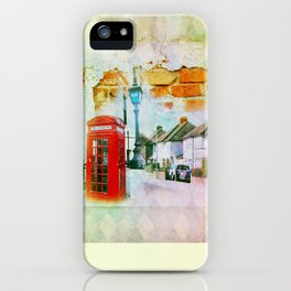 England iPhone Case