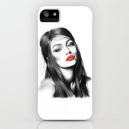 Gigi Hadid iPhone Case