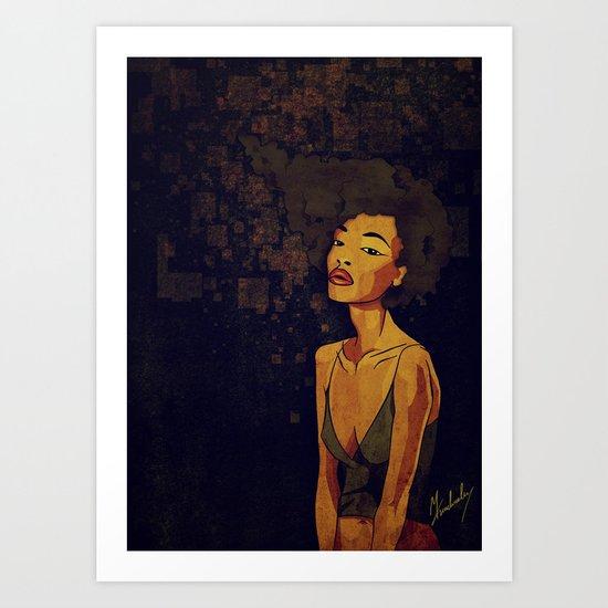afro - Soul Art Print