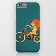 Lion on the bike iPhone 6s Slim Case