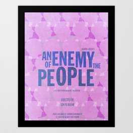 An Enemy of the People Art Print