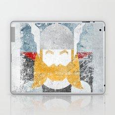 God of thunder grunge superhero Laptop & iPad Skin