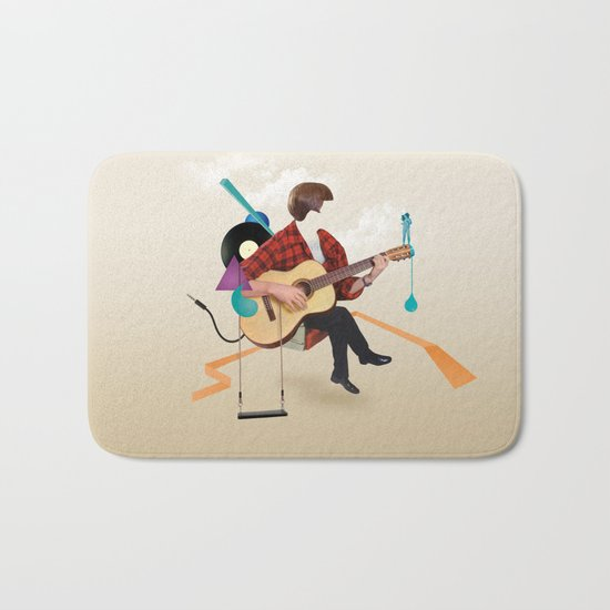 ILOVEMUSIC #1 Bath Mat