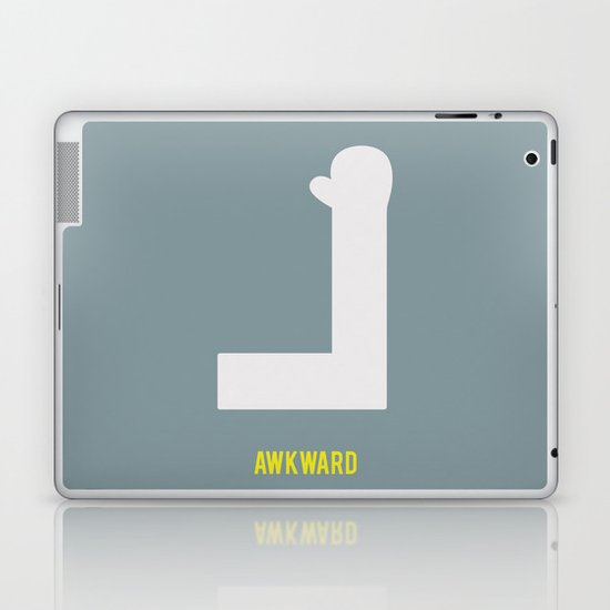 Awkward - Minimalist Laptop & iPad Skin