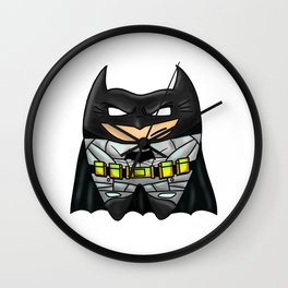 Bat-man Tooth Wall Clock