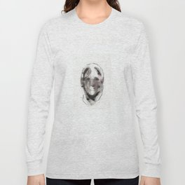 Woman With Head Wound Long Sleeve T-shirt